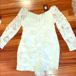White Dress Fashion Nova